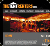 The Tent Renters Inc Logo